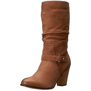 Aldo tan leather boots
